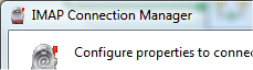 IMAP Connection Manager