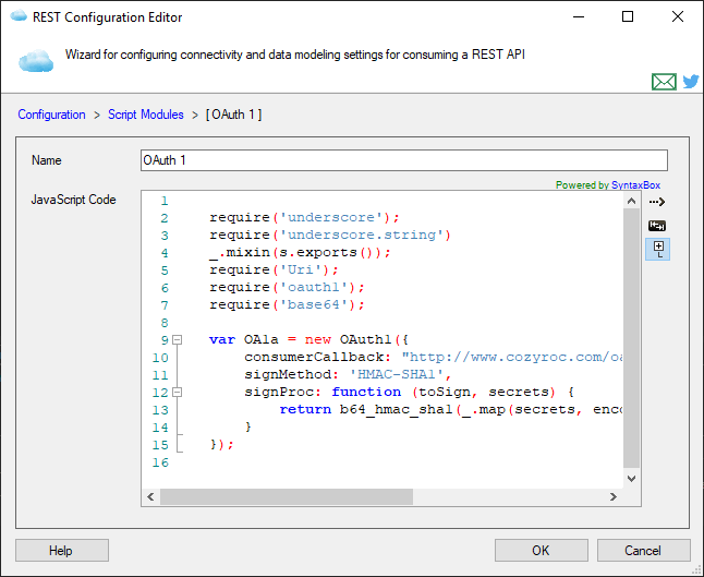 Script Module Page