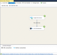 Google drive integration SSIS