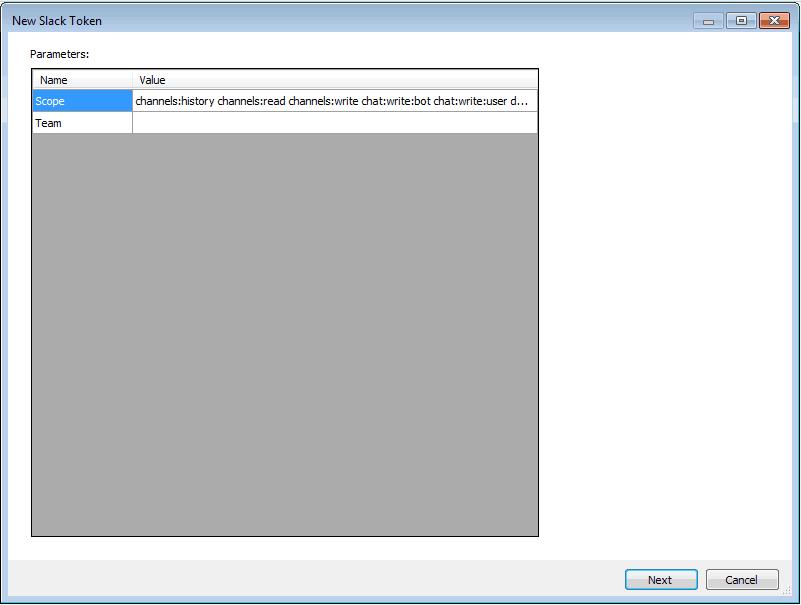 Slack Connection   COZYROC