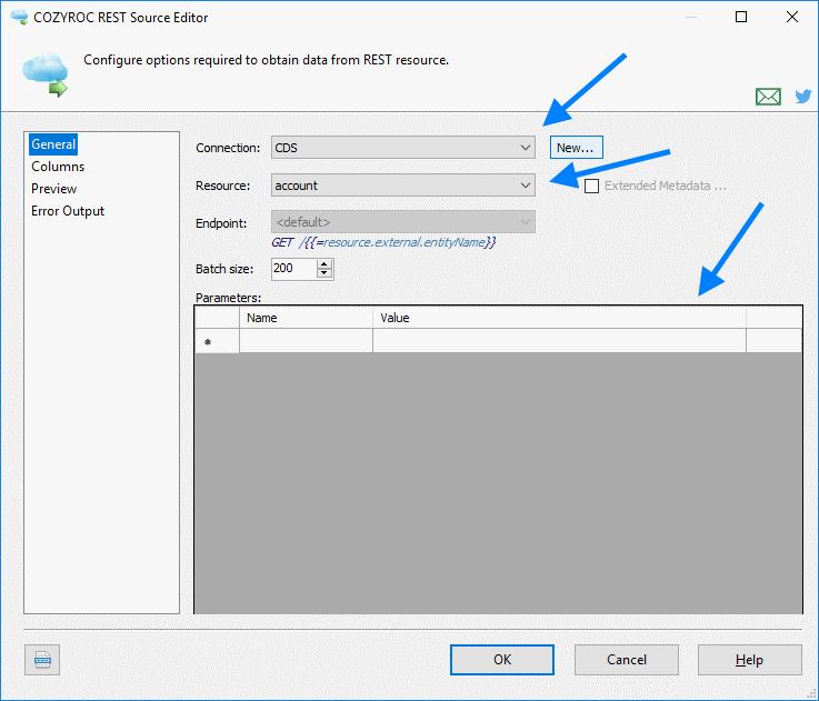 Microsoft Common Data Service Connection   COZYROC