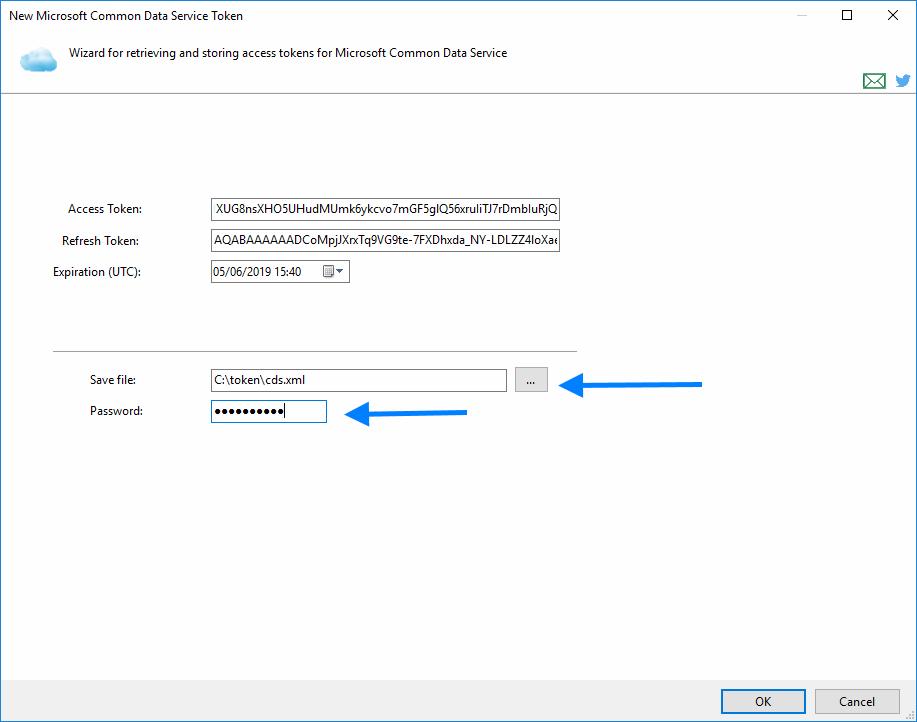 Microsoft Common Data Service Connection | COZYROC